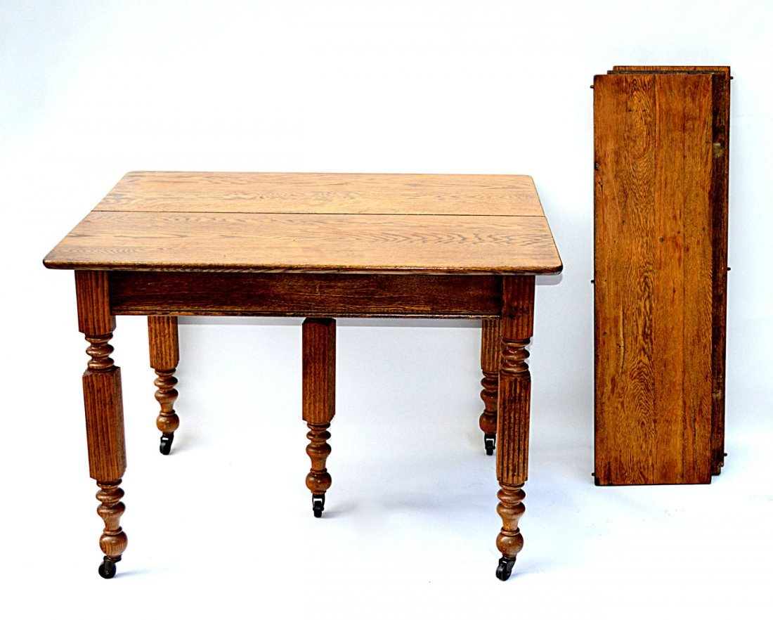 3: Vintage Oak Dining Table