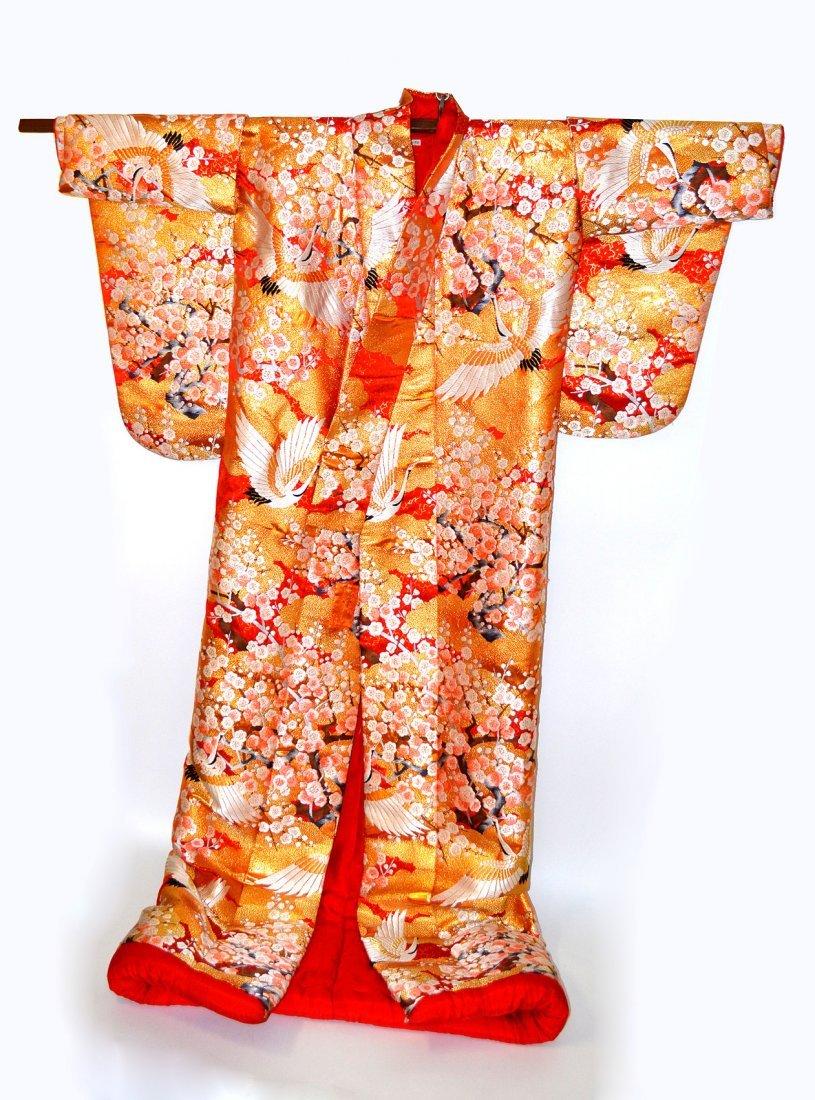 4: Embroidered Silk Kimono