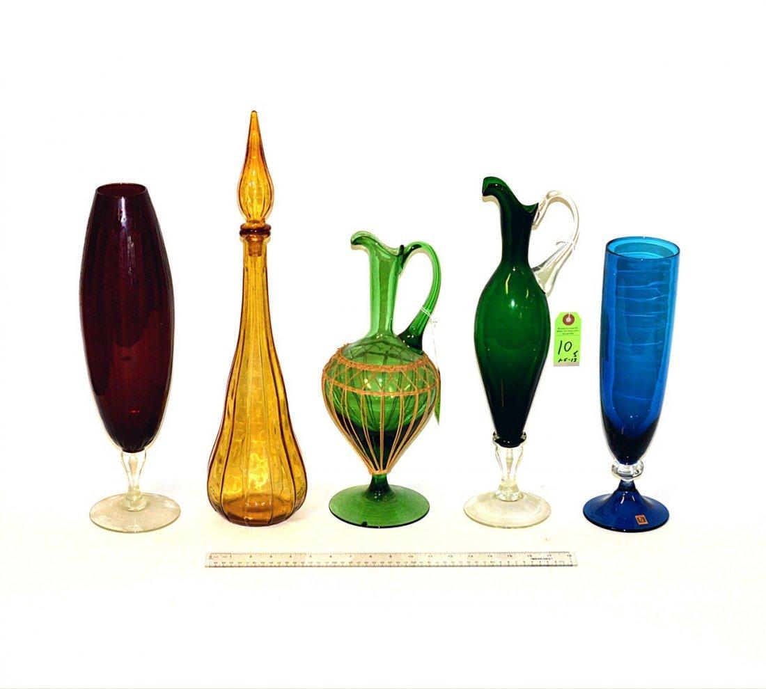 10: Five Glass Vessels