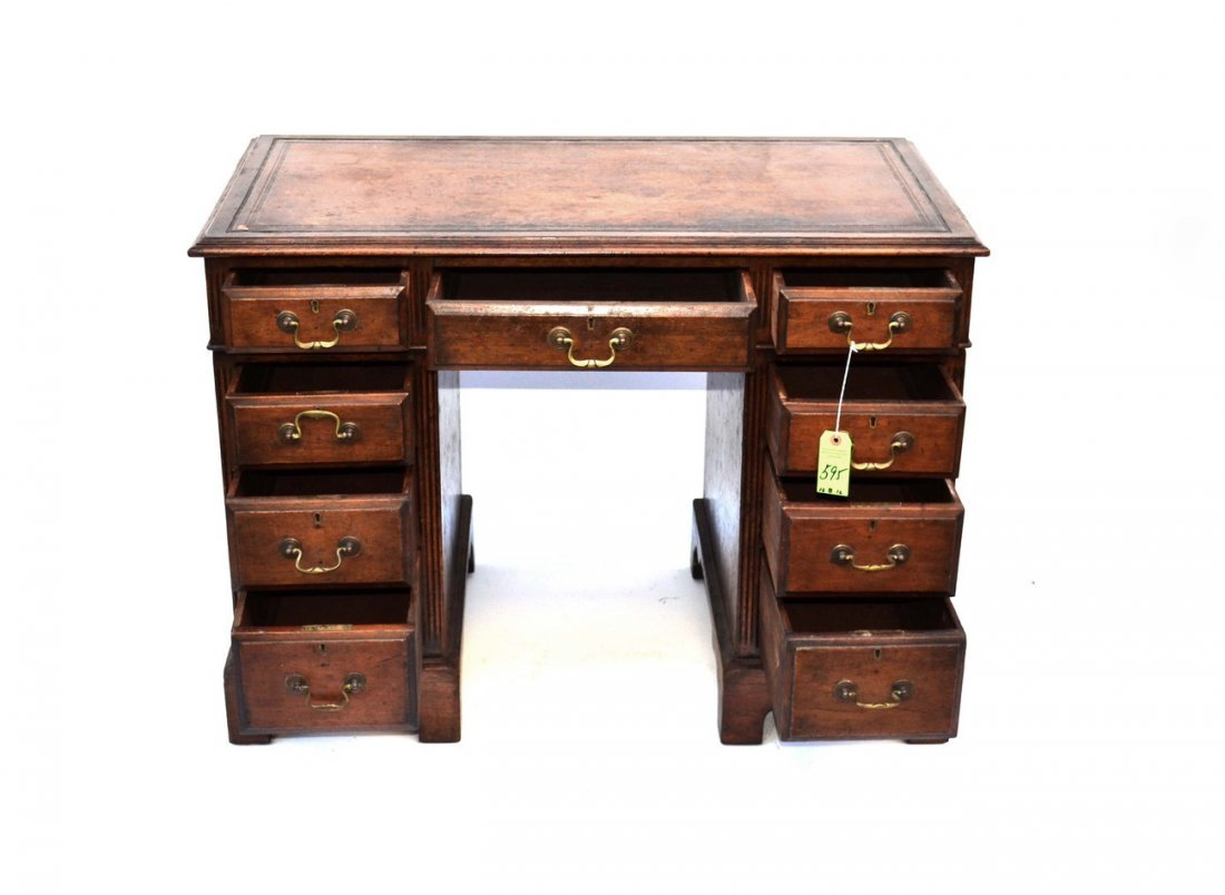 11: English Kneehole Desk