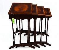 363: Schmieg & Kotzian Nest of 4 Tables, NY