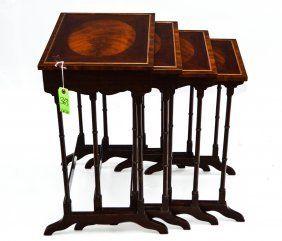 Schmieg & Kotzian Nest of 4 Tables, NY