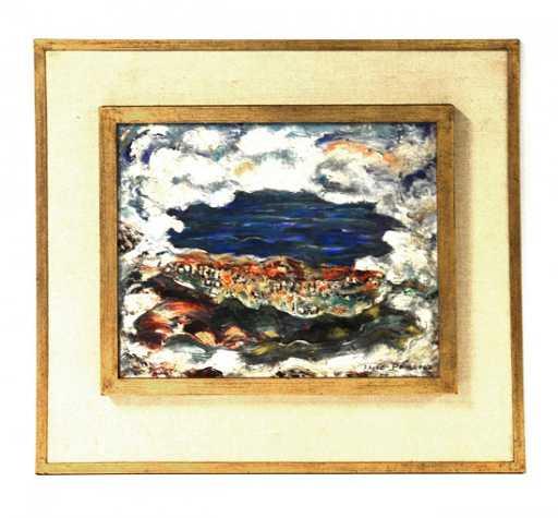 89 Elsie Lower Pomeroy Oil On Canvas