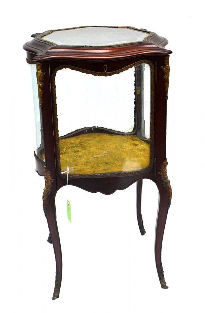 14: Victorian LXV Style Glazed Vitrine