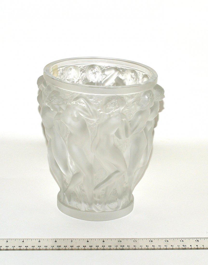 """190: Lalique """"Dancers"""" Vase"""