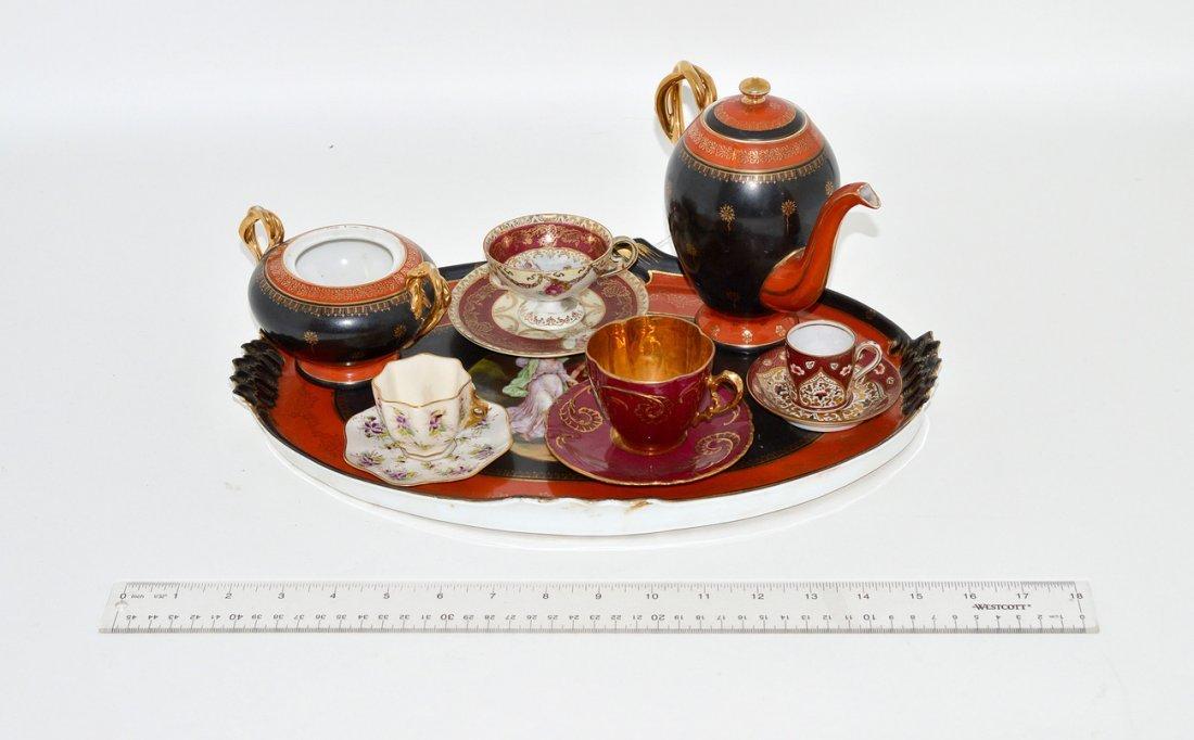 23: Group of Assorted Belle Epoque Porcelain