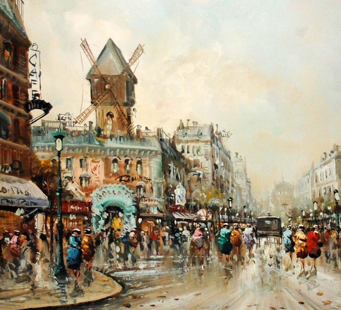 185: Giovanni Cappelli Oil on Canvas European Scene - 2