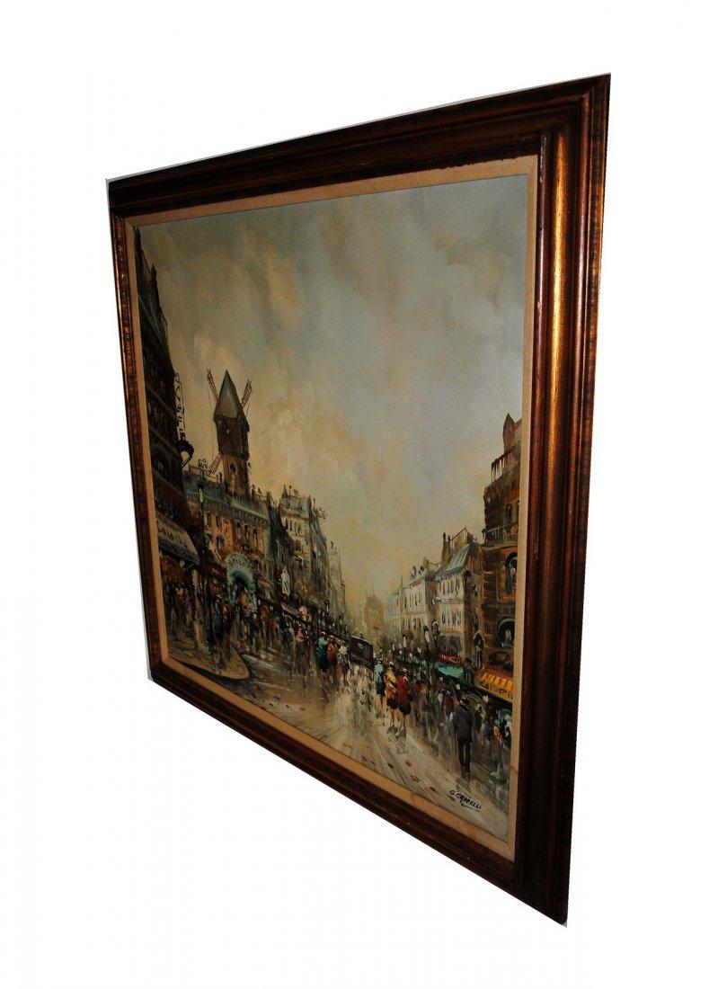 185: Giovanni Cappelli Oil on Canvas European Scene - 5