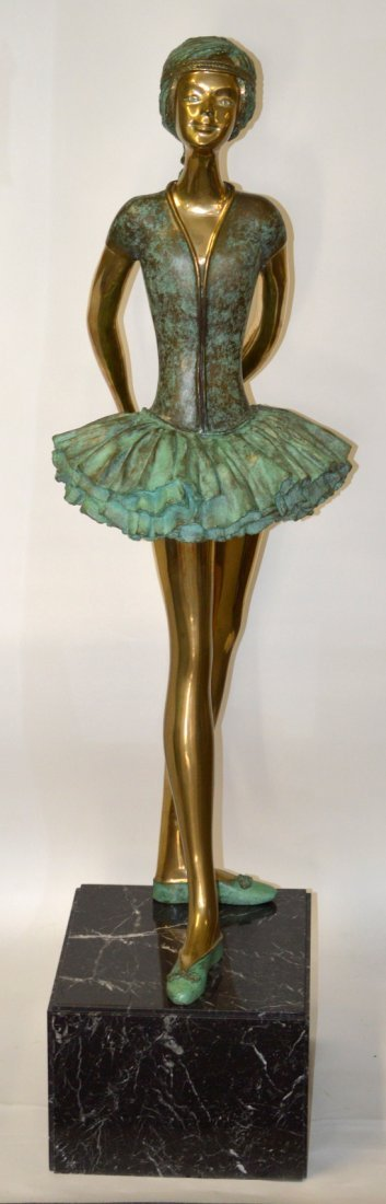 """406: A. Winant """"Homage to Degas"""" Edition 9/12"""