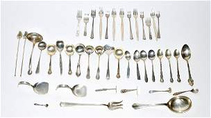 545: Assorted Sterling Silver Flatware