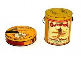 4: Two Ojibwa Tobacco Tins