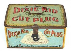 Dixie Kid Cut Plug Tobacco Tin
