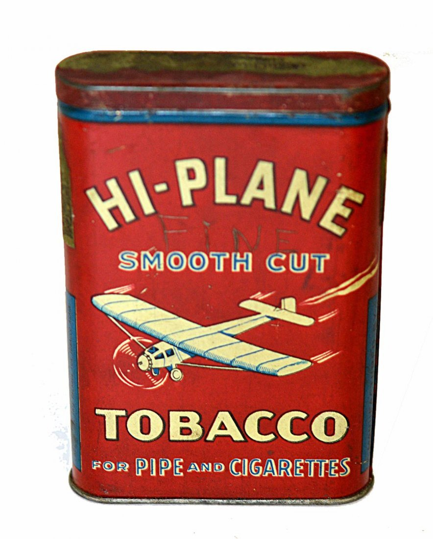 24: Hi-Plane Smooth Cut Tobacco Pocket Tin