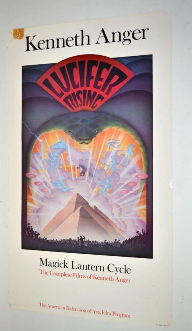 "Kenneth Anger ""Lucifer Rising"" Poster"