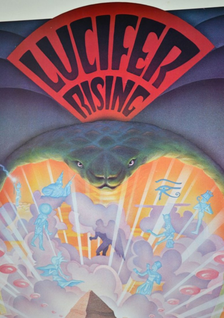 "Kenneth Anger ""Lucifer Rising"" Poster - 2"