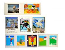 Contemporary Folio of Assorted Graphics and Prints