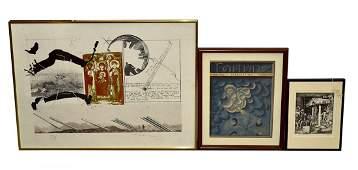 Assorted Framed Prints  Graphics