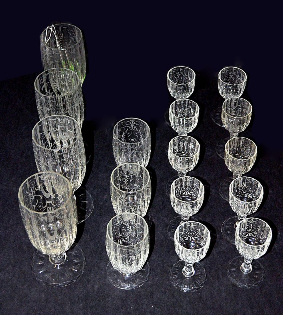 Seventeen Etched Stems