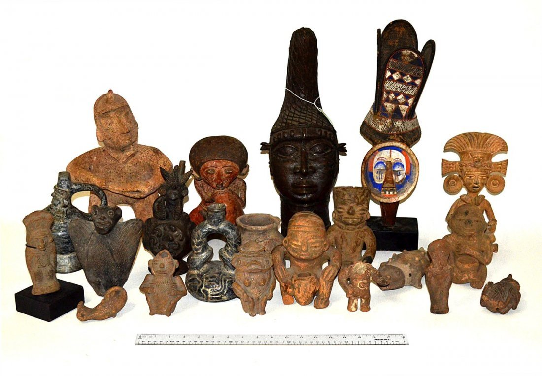 A Group of Ethnic Sculptures (16)