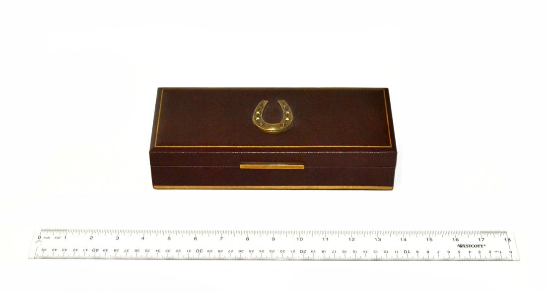 Leather Desk Box