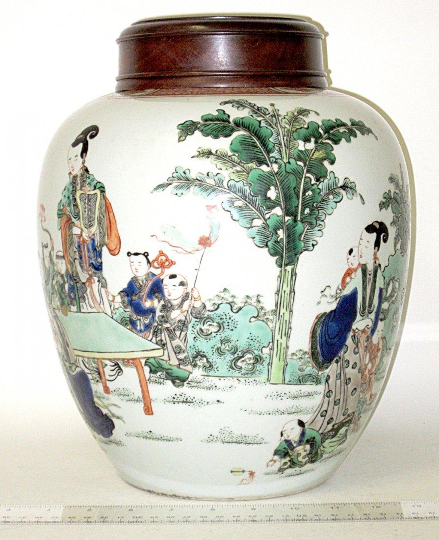 Chinese Ceramic Ginger Jar