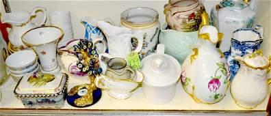 Assorted Antique and Vintage Ceramics