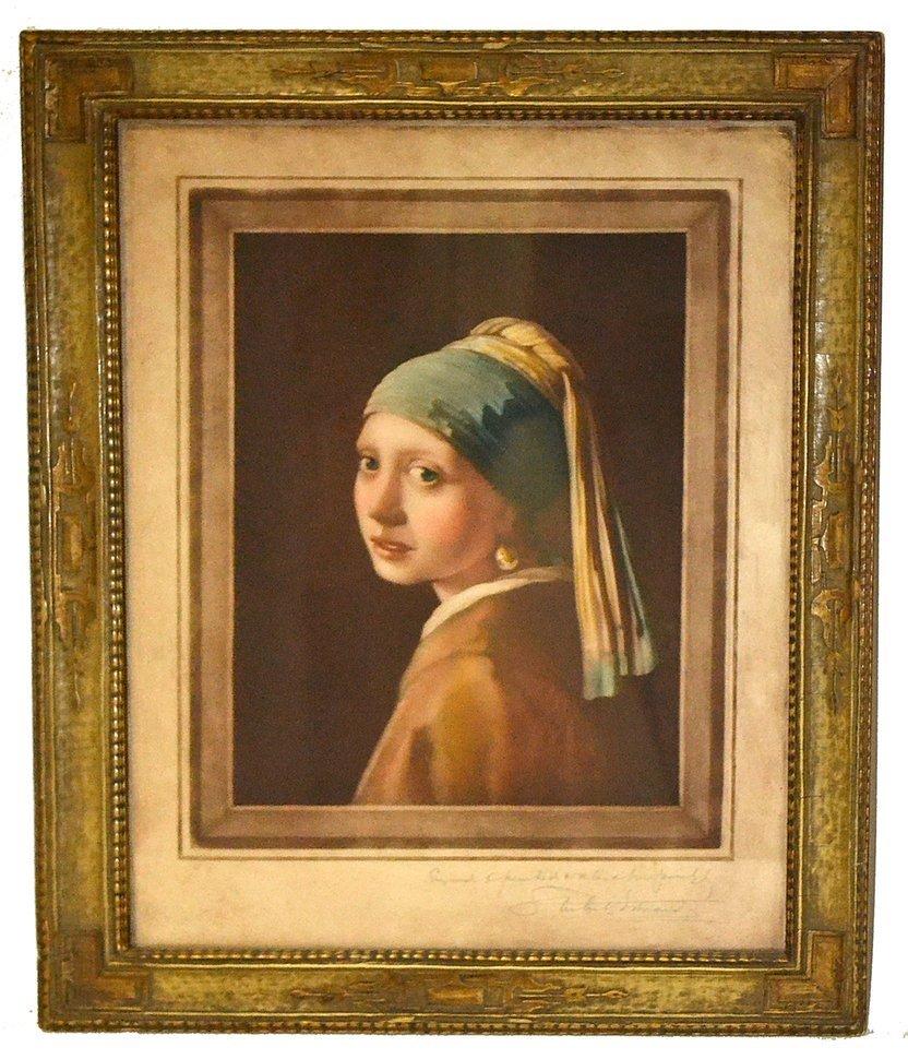 Framed Female Print