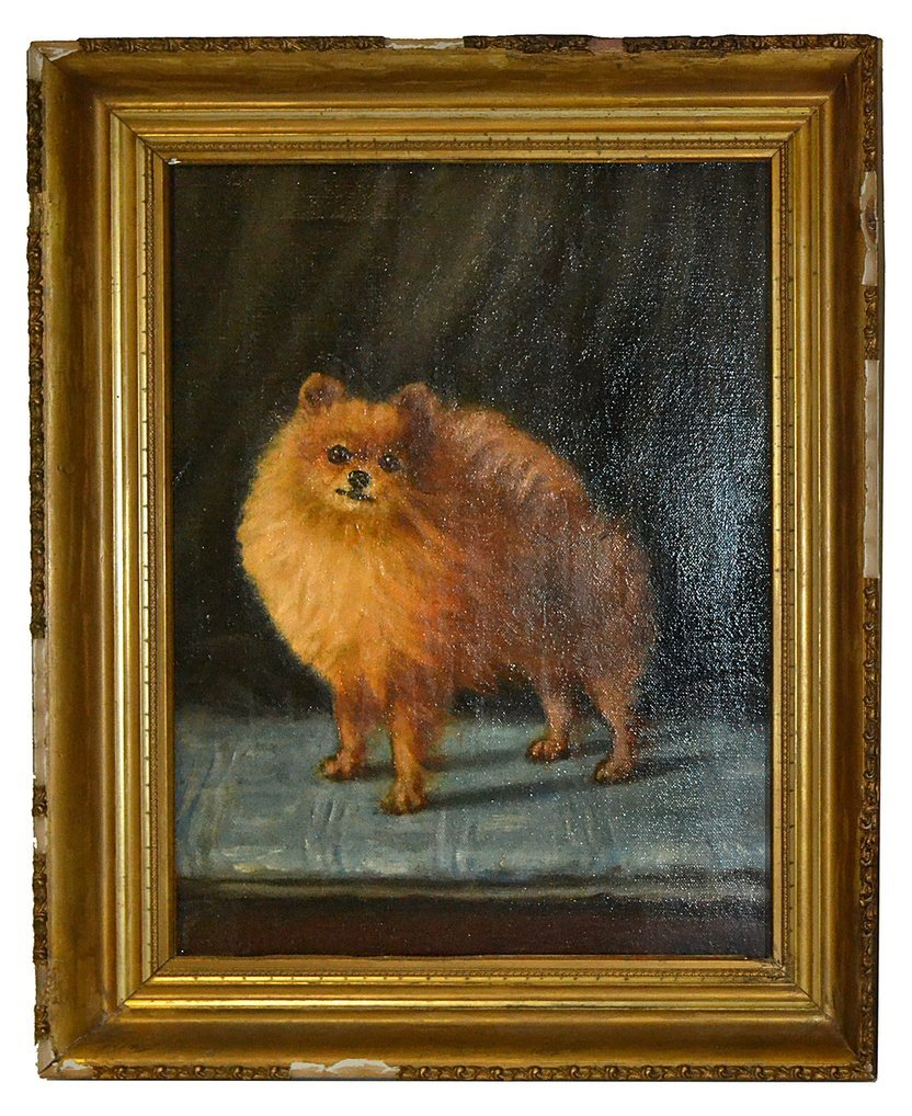Maud Earle, Oil on Canvas- Dog