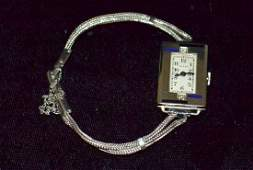 Elgin 14k Gold Ladies Wrist Watch