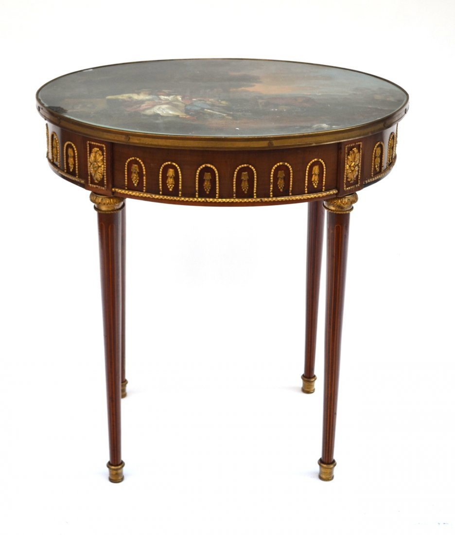 French Oval Table
