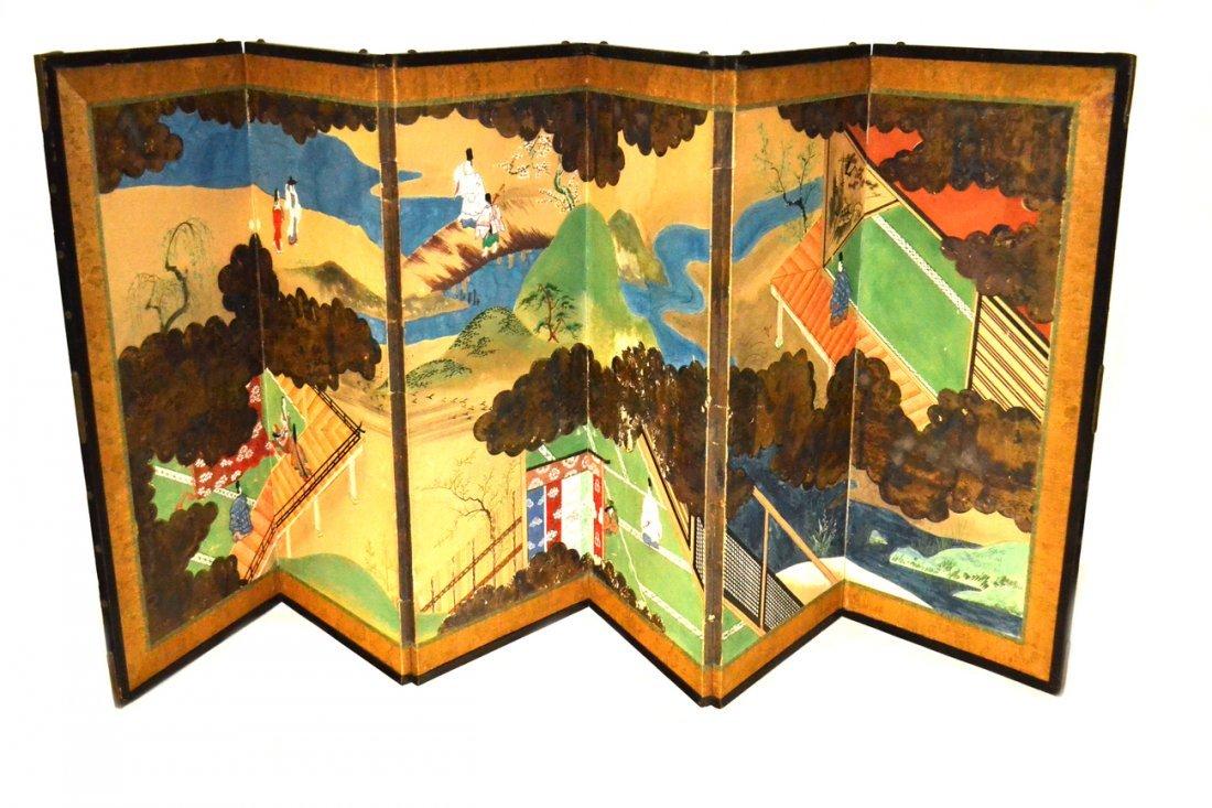 Japanese 6 Panel Screen