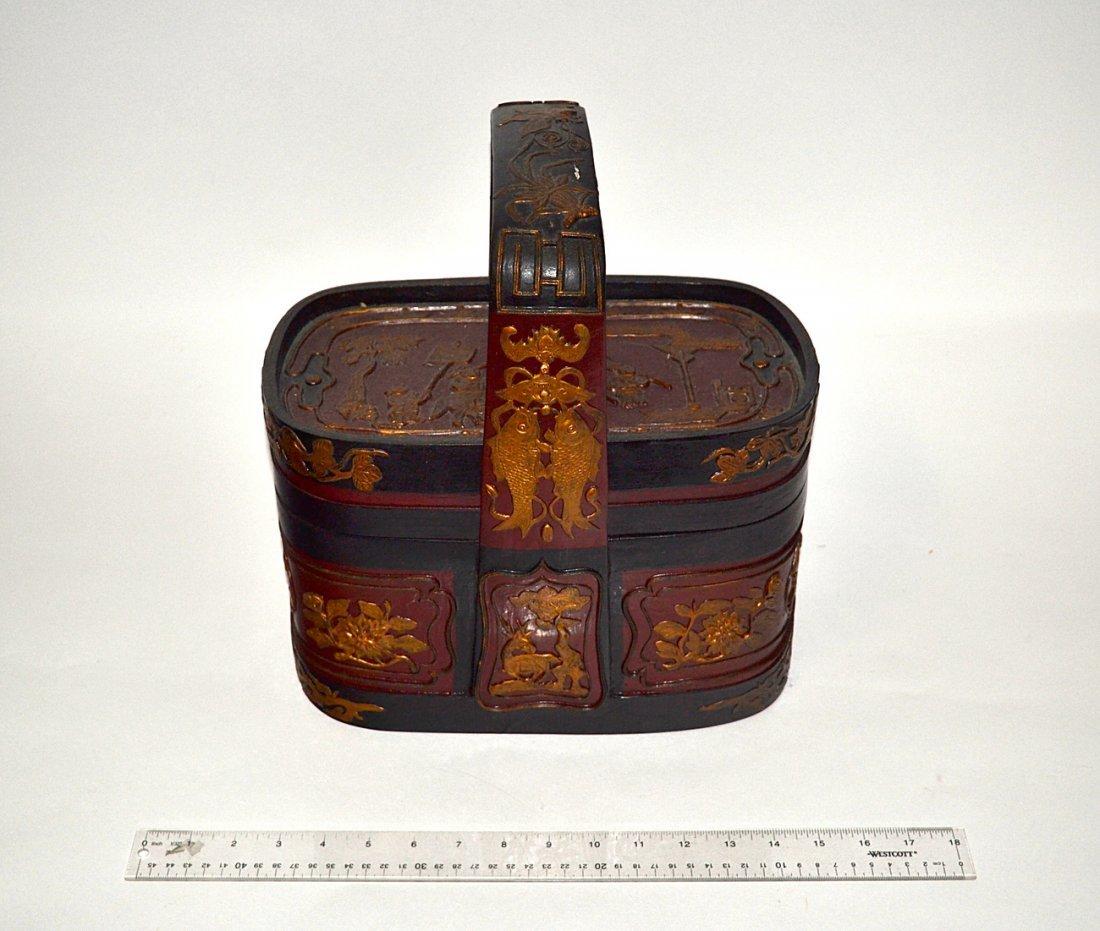 Asian Basket Form Box