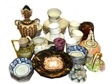 Assorted International, Vintage, Antique Ceramics