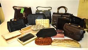 20 Assorted Vintage Modern Handbags