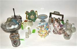 Assorted Crystal, Glass and Ceramic Articles