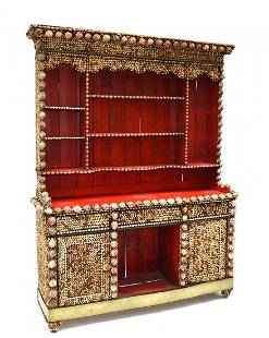 Anthony Redmile Seashell Encrusted Hutch