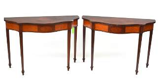 Pair of Schmeig and Kotzian Consoles