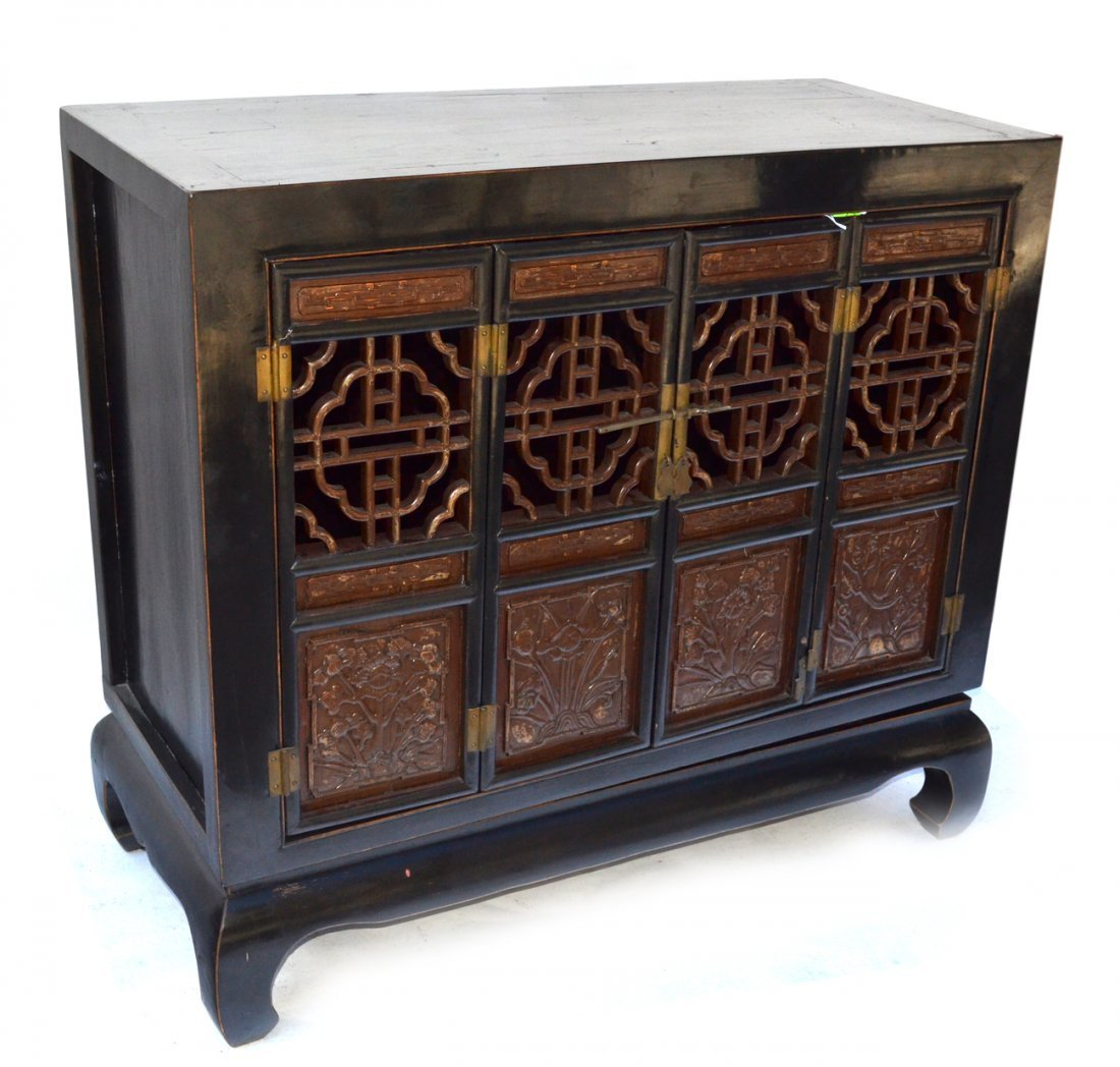 Chinese Four Door Cabinet