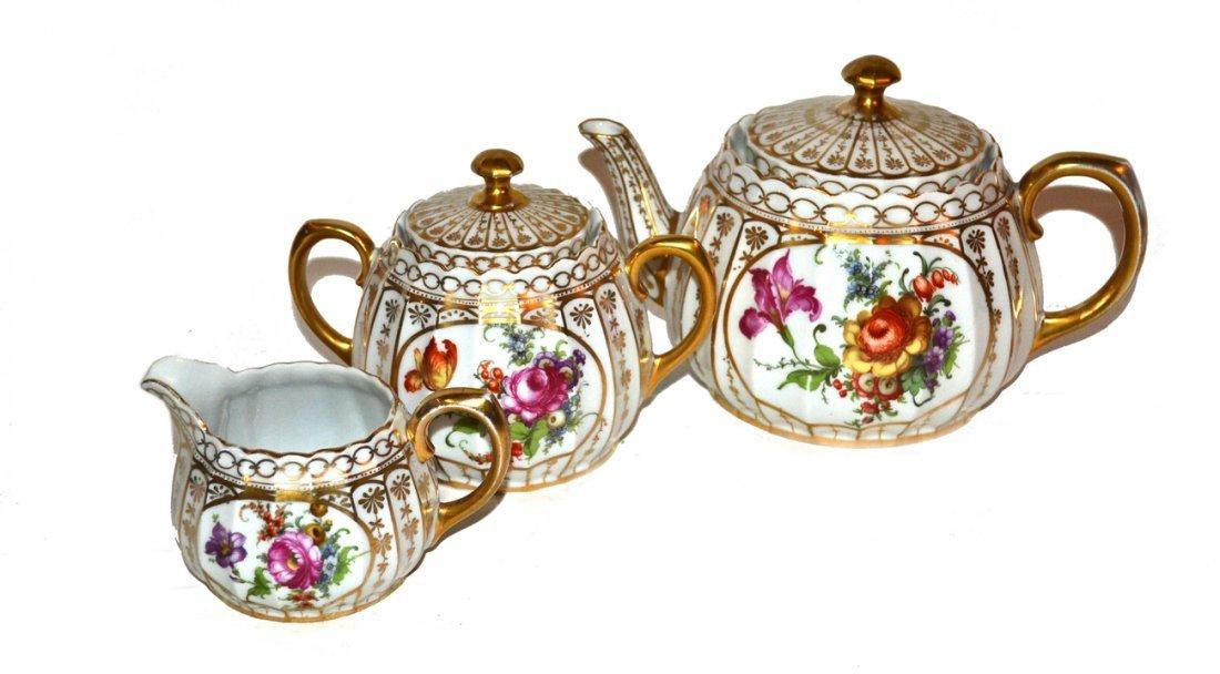 Three Piece Tea Set