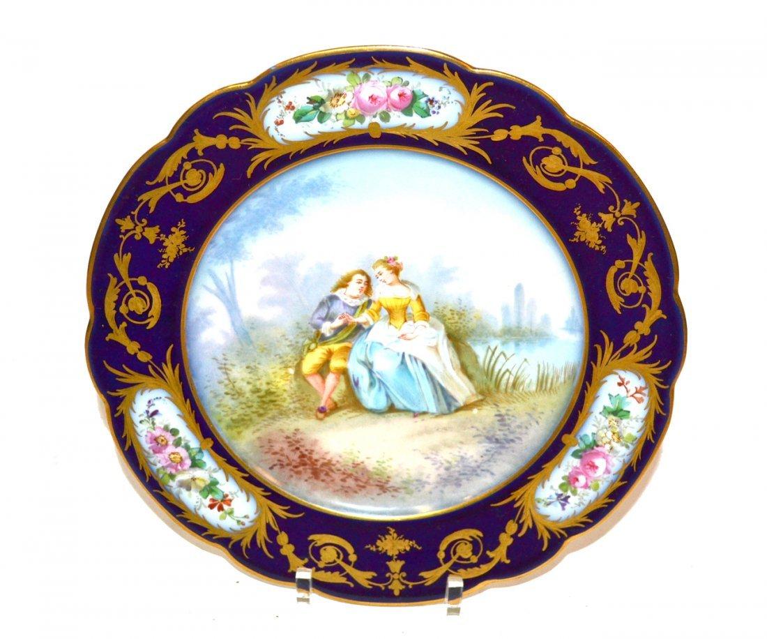 Sevres Portrait Plate