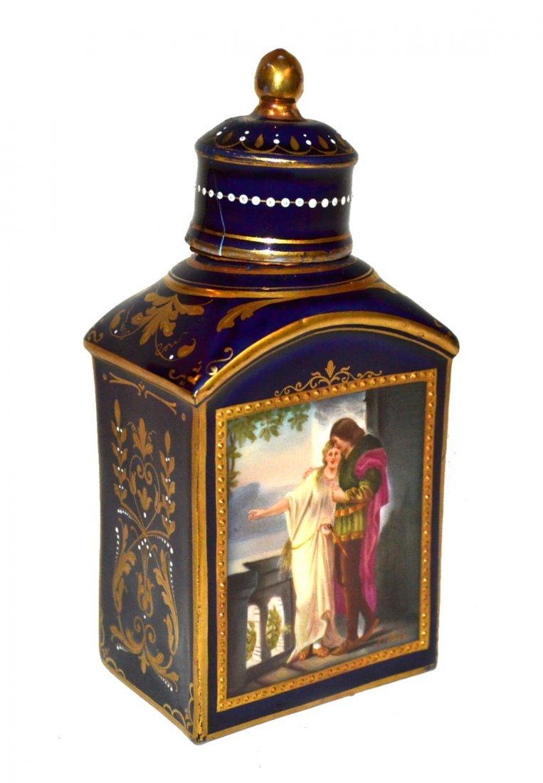 Royal Vienna Covered Jar