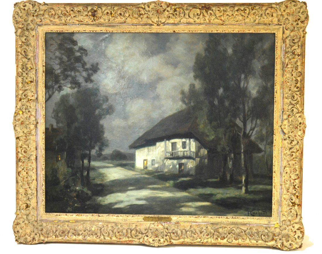 F. C. Cachoud, Oil on Canvas