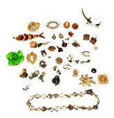 Assorted Vintage and Modern Costume Jewelry