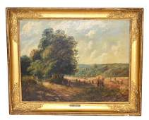 After John Constable, Oil on Canvas