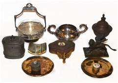 Antique and Vintage Mixed Metal Articles