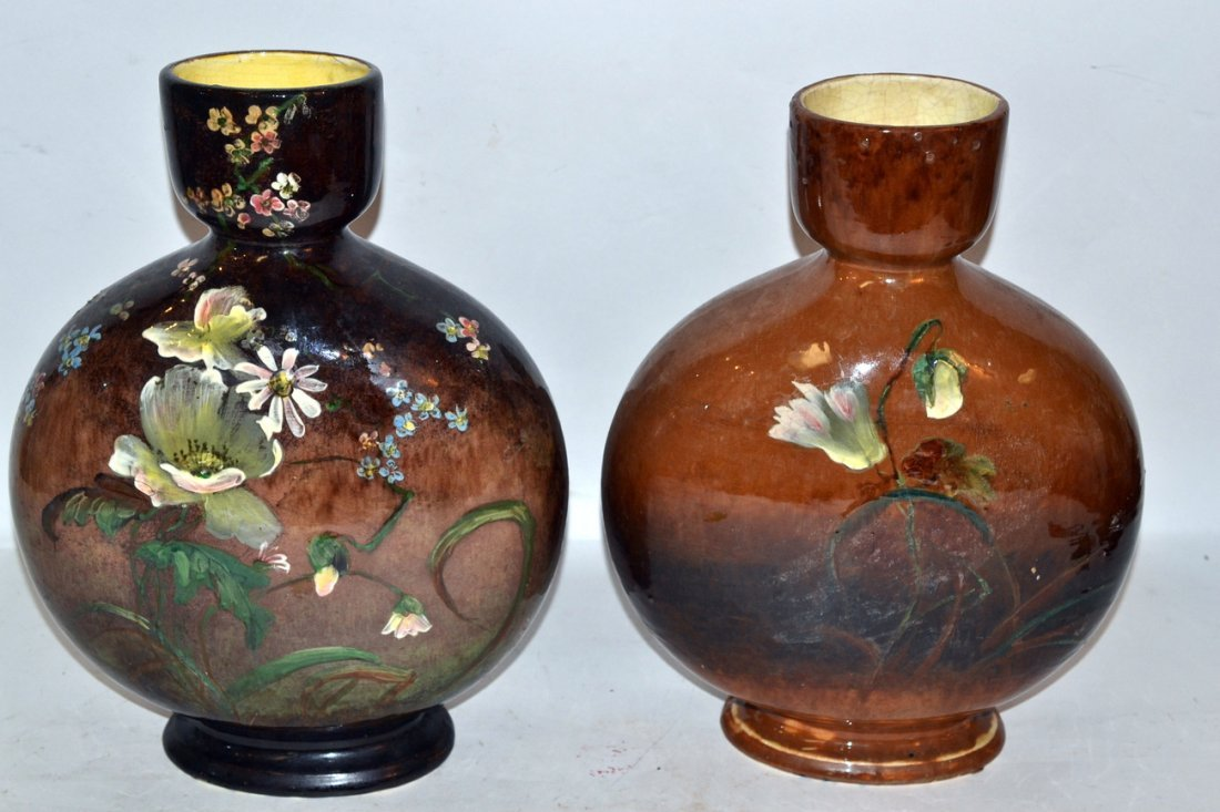 Matched Pair of Vintage English Vases