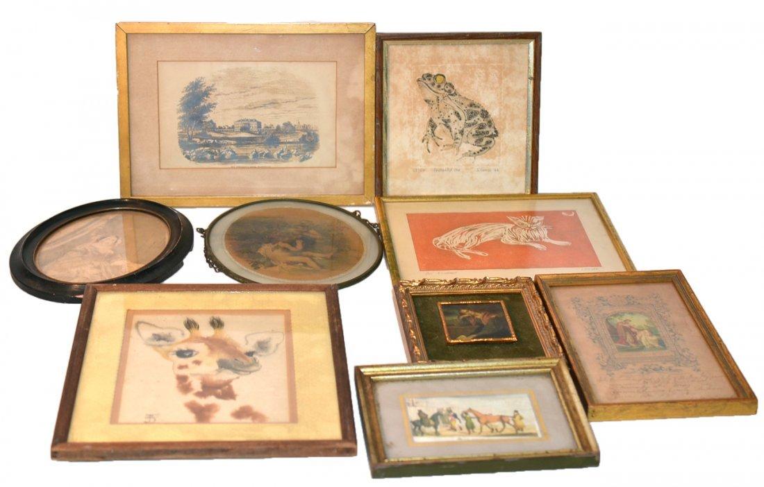 Vintage and Antique Framed Art