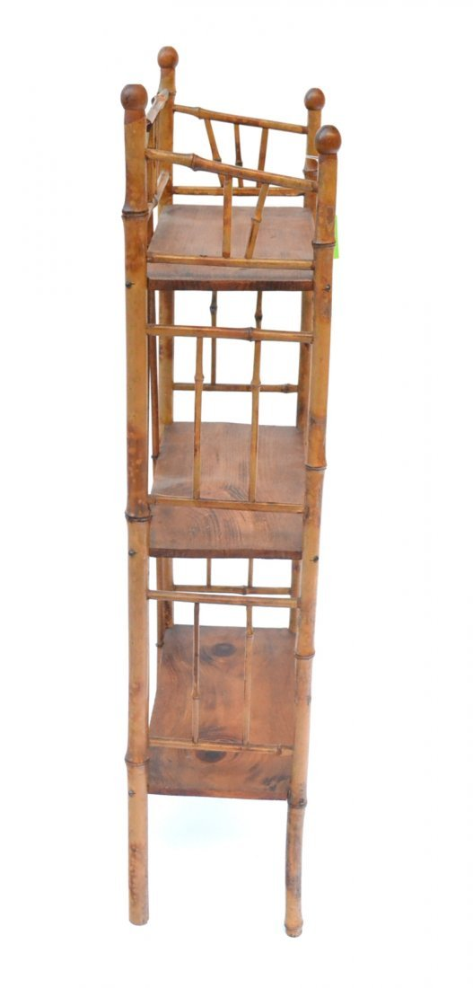Antique Bamboo Etagere - 3