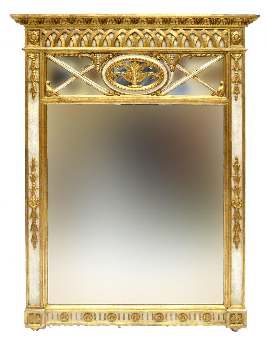 Classical Trumeau Mirror