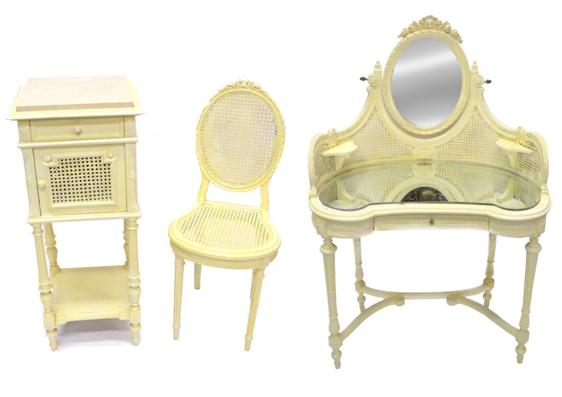 Three-Piece Painted Suite